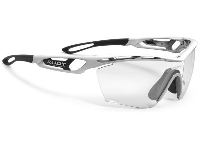 Rudy Project Tralyx Slim Glasses white gloss - impactx photochromic 2 black